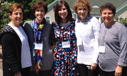 JWFA members celebrate Jewish women's philanthropy.