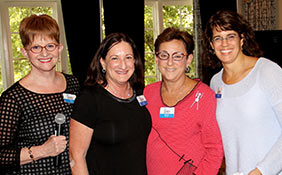 4 JWFA Trustees and Jewish women leaders collaborate on grants for Jewish women and girls.