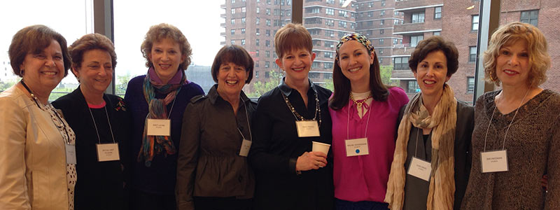 Jewish women enjoy time together at JWFA and discuss investing in Jewish grants.