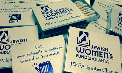 JWFA — the only Atlanta Women's Fund of its kind.