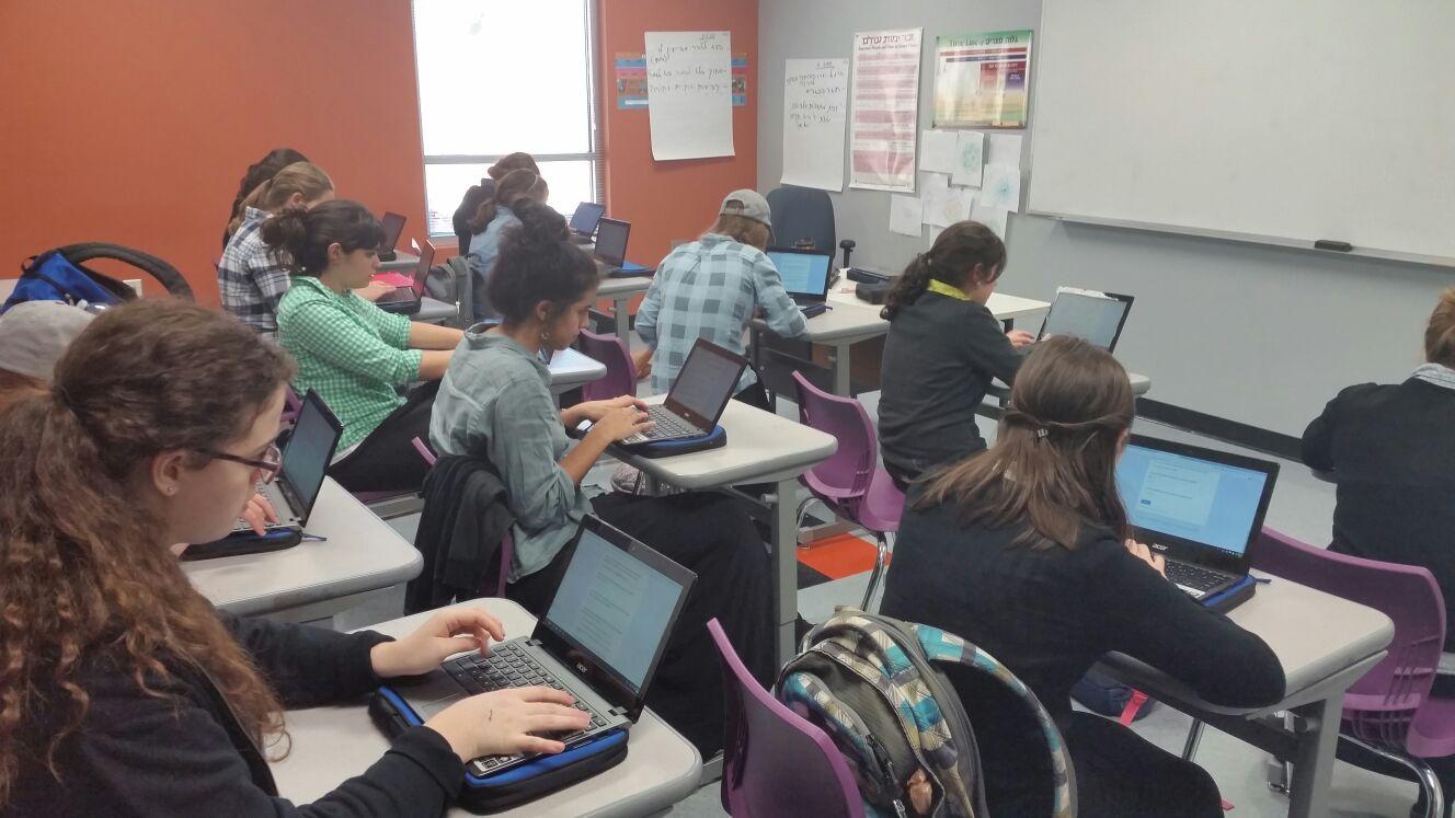 Grantee Partners teach Jewish girls.